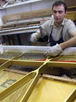 Restauration piano du Théâtre de Metz